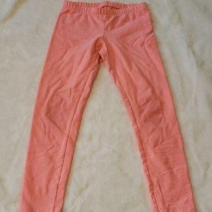 Peach leggings